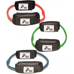 KIT ANKLE SPEED BANDS (3 RESISTENCIAS: SUAVE, MEDIA Y FUERTE)