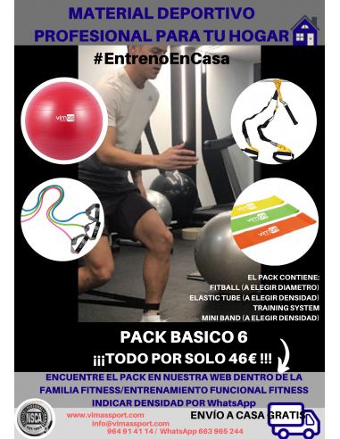 A PACK 6 DE ENTRENAMIENTO EN CASA