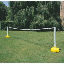 RED TENIS-VOLEY (set 2 bases +2 mástiles extensibles +red de 4x0,8 m.)