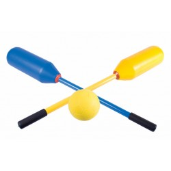 POLO EN FOAM - Set de 12 mazas + pelota